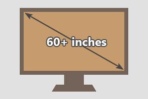 60 inches tv