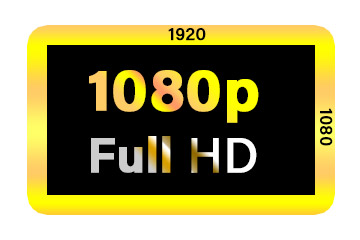 Full hd (1080p) TV resolution