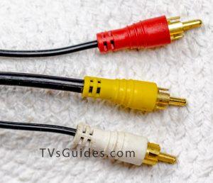 Composite video RCA cable