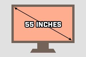 55-inch TV