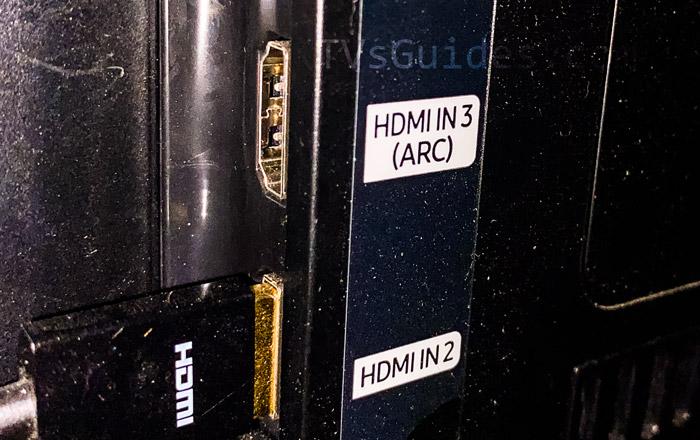 HDMI ACR TV Port